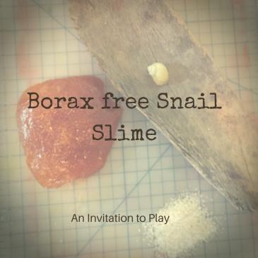 Borax Free Snail Slime