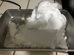 Making your own snow our favorite wintertime activity