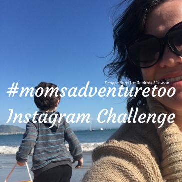 #momsadventuretoo Instagram challenge