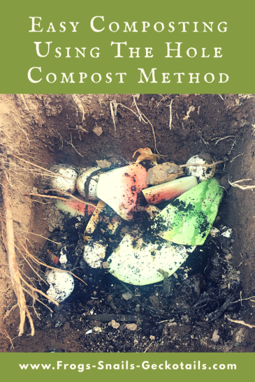 Easy Composting Using the Hole Method